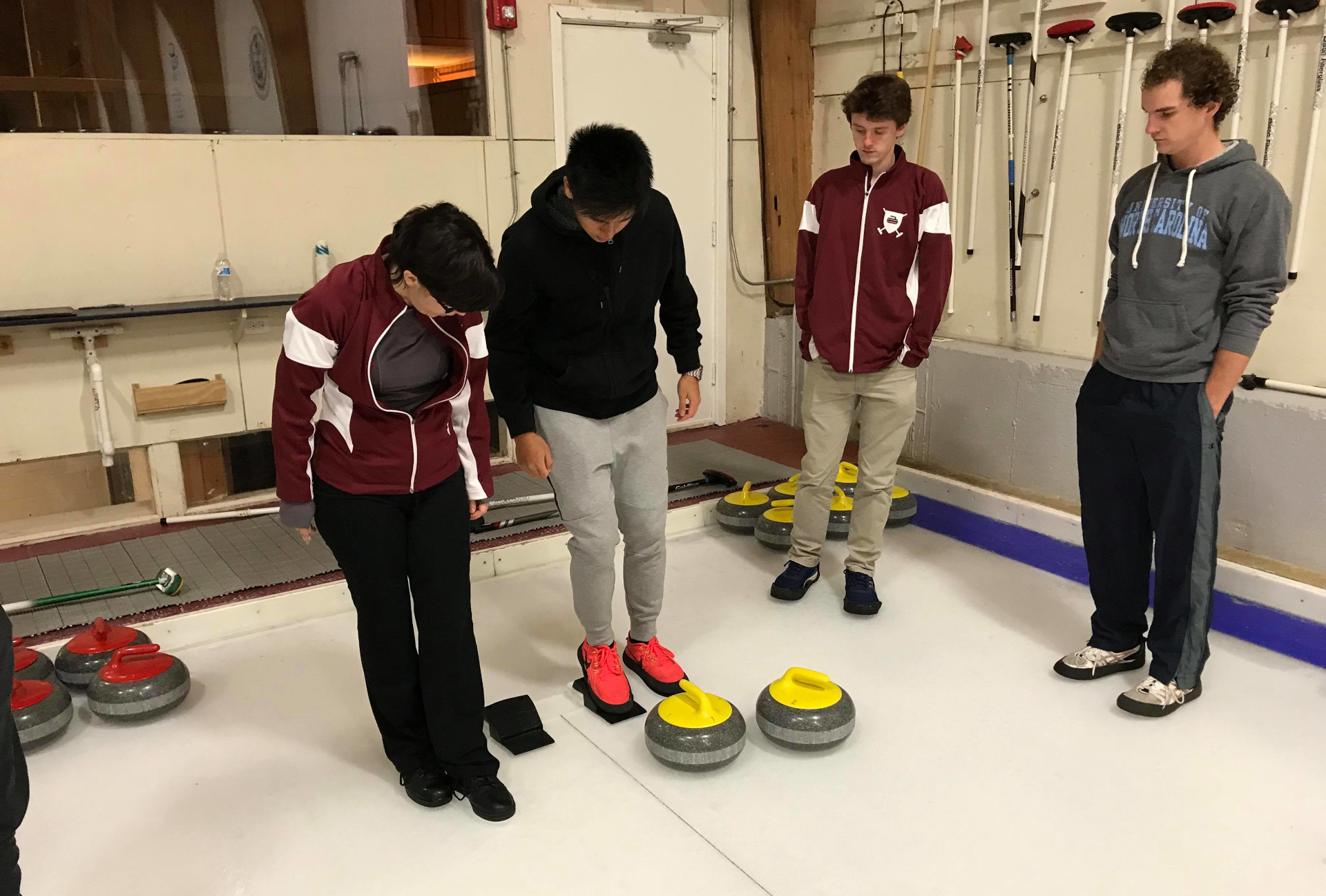 Learn to curl event